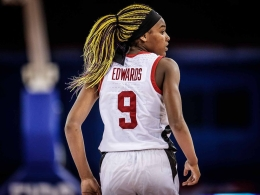 Aaliyah Edwards added to Canadian senior women's basketball team